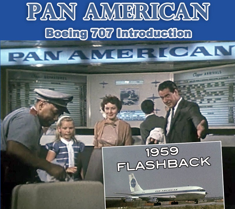 Pan American 1959 Boeing 707