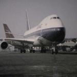 BOAC 747 in Small World film