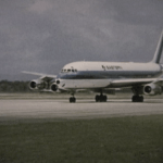 Eastern DC-8-50 in Small World film