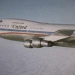 United 747 classic in Small World film