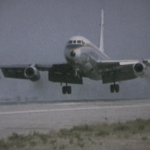 MEA Convair 990 in Small World film