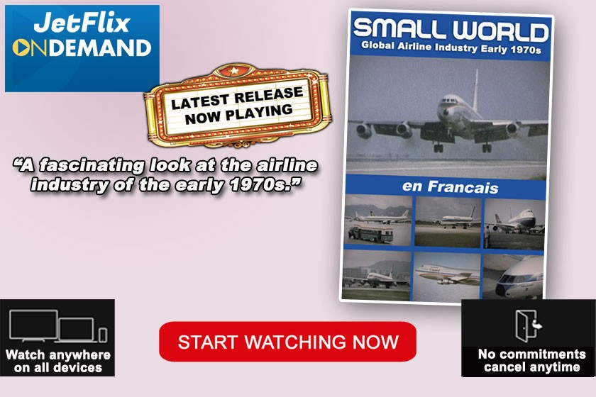 Small World Early 1970s Airline Industry film released at JetFlix TV