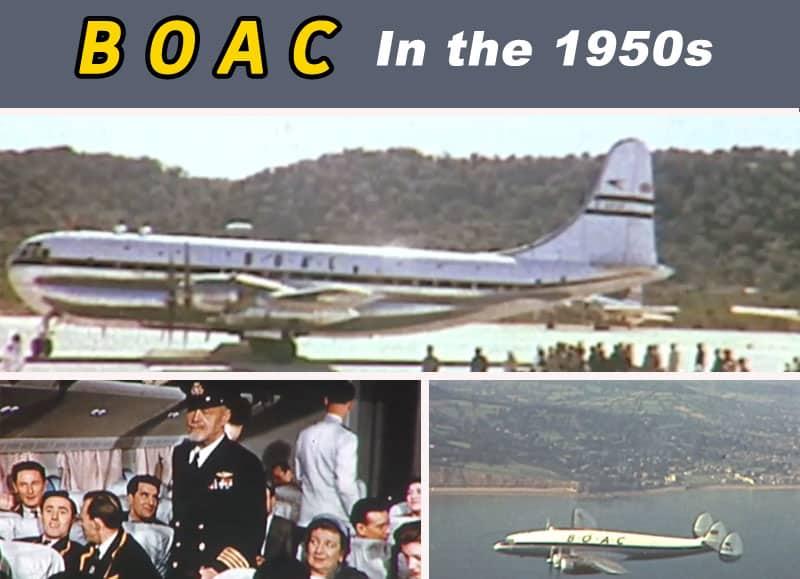British Overseas Airways Corporation 1950s