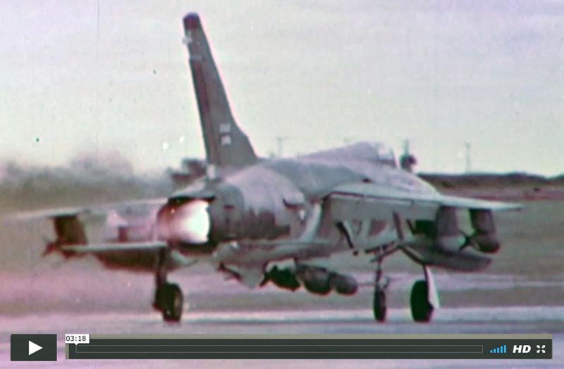 USAF F105 film
