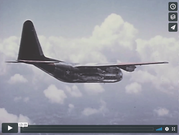 Lockheed C130 Hercules First Look 1955