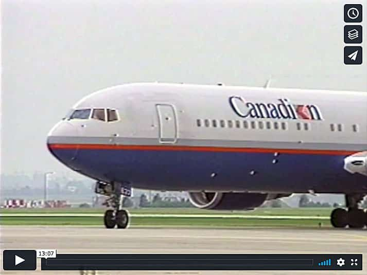 Canadian Airlines International 767-300ER on JetFlix TV