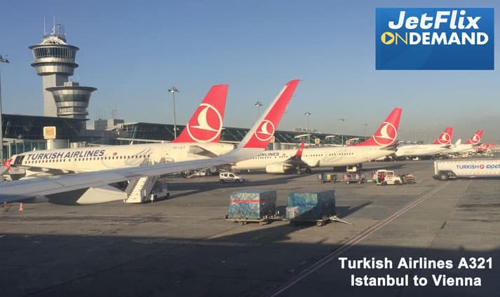 Istanbul Airbus A321 Turkish Airlines
