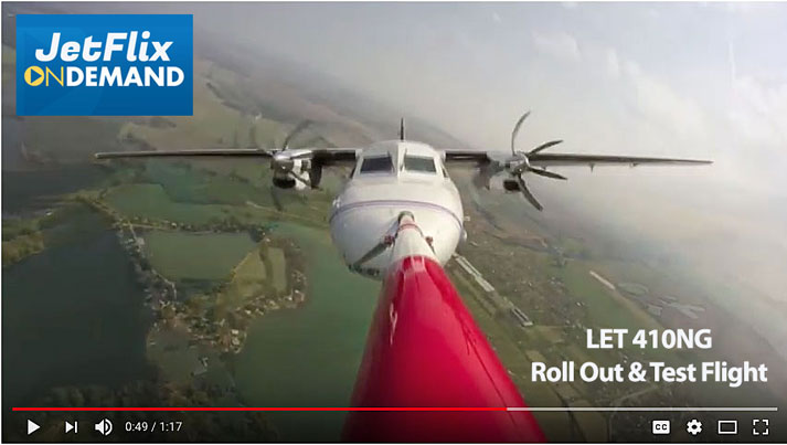LET Aircraft Industries LET 410NG Flight Review and Demonstration