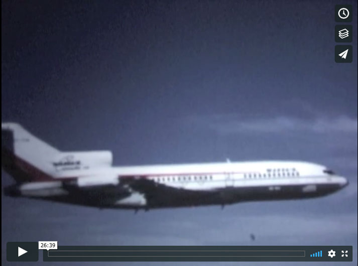 Wardair Boeing 727