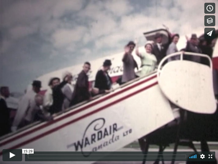 Wardair DC-6B