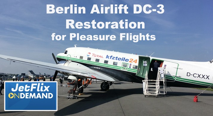 Berlin Airlift DC-3 Restoration Project