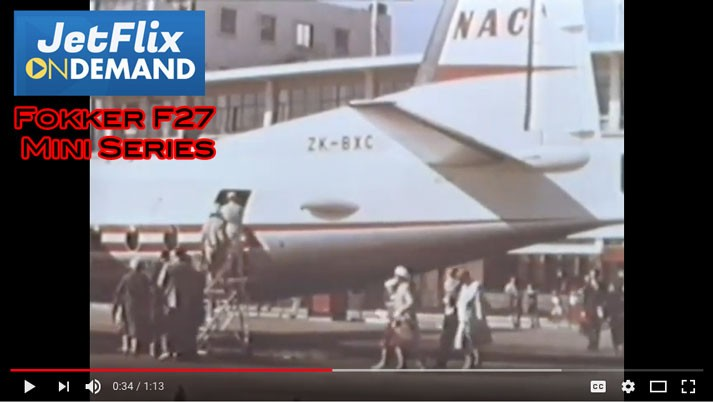 Fokker F27 mini series on JetFlix TV