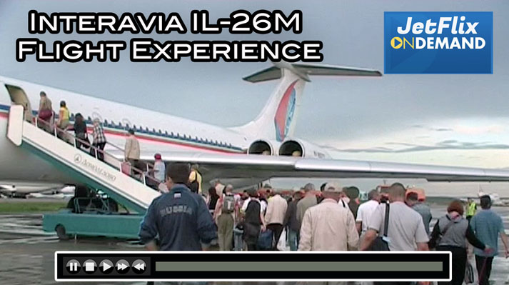 Interavia IL-62M RA-86577 Flight Moscow to Magadan - Now on JetFlix.TV