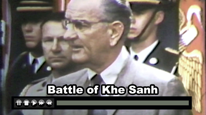 Battle of Khe Sanh won by US Air Power JAN-FEB 1968 - Now on JetFlix TV