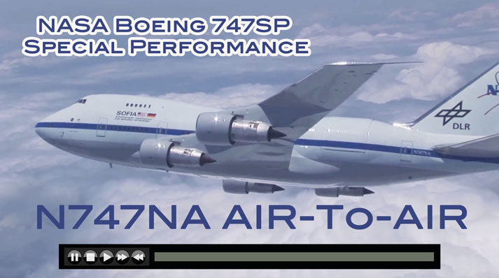 NASA Boeing 747SP Special Performance SOFIA Visual History - Now on JetFlix TV