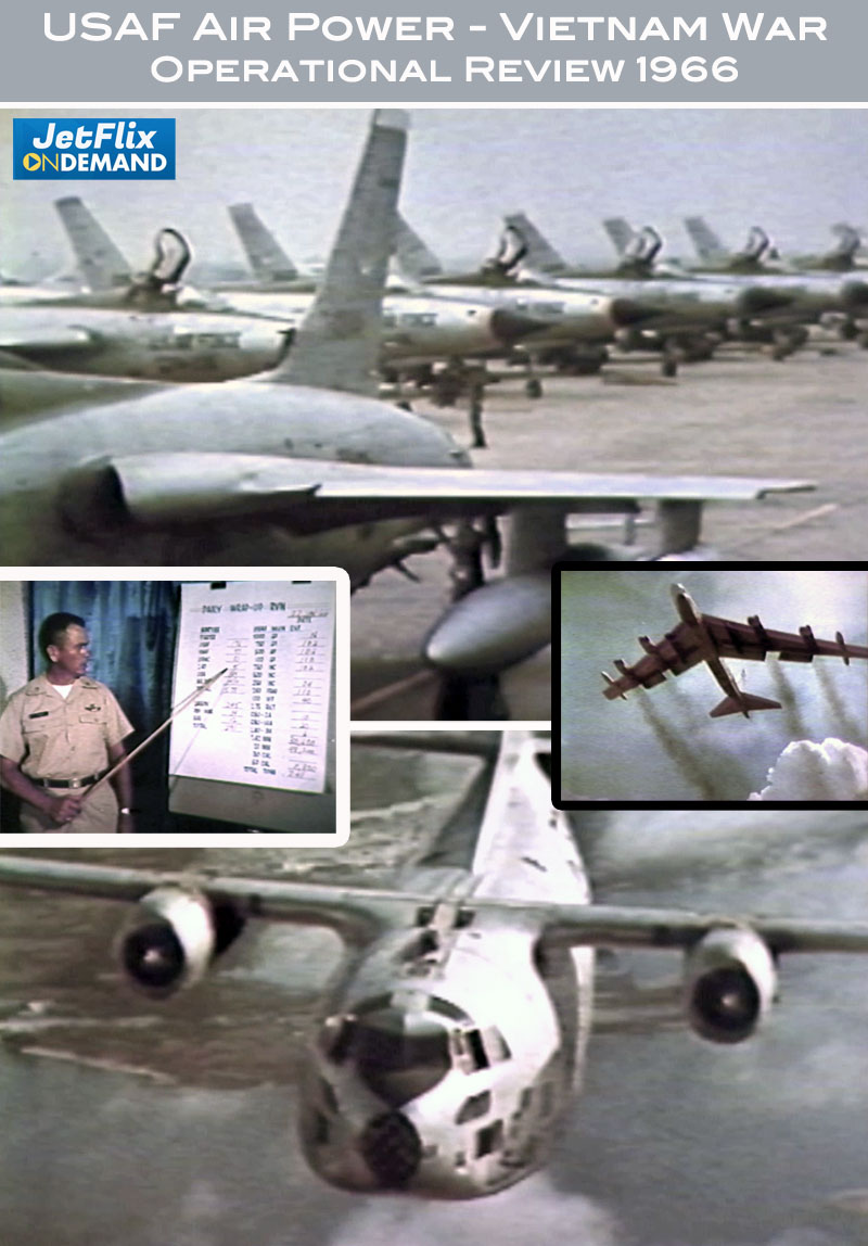 US Air Force Air Power in Vietnam Operational Review 1966