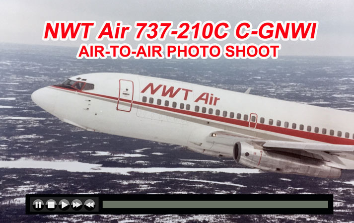 NWTAir 737-210C airtoair 1992 video on JetFlix TV