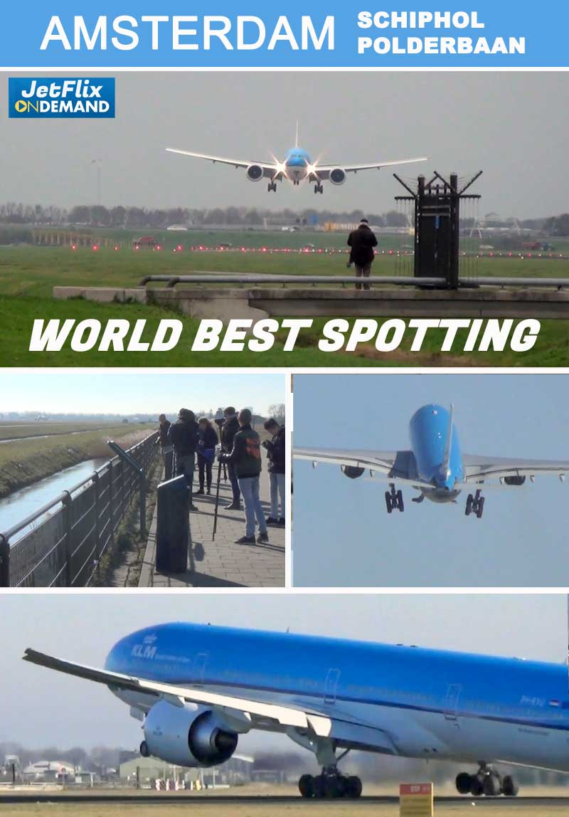 Amsterdam Polderbaan World Best Spotting Location