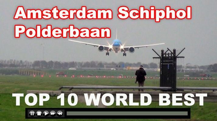 Polderbaan spotting location at Amsterdam Airport