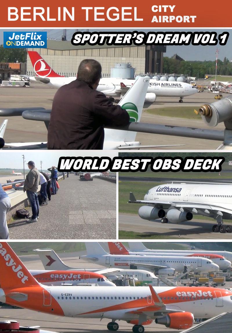 Berlin Tegel Spotter's Dream Airport Part 1