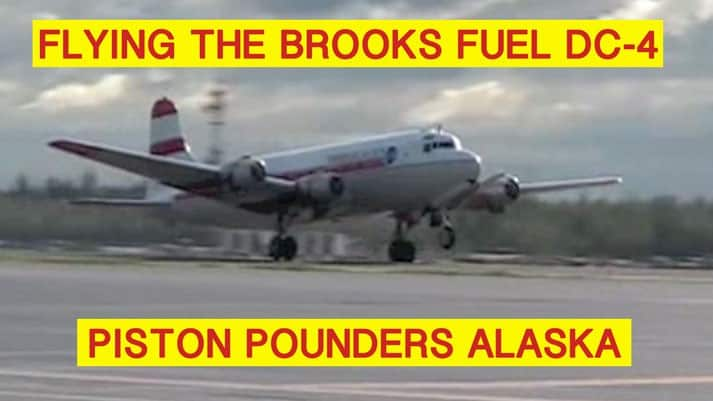 Flying The Brooks DC4 video
