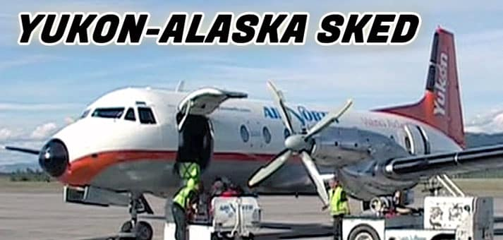 Air North HS748 - FLYING THE YUKON-ALASKA SKED - Now on JetFlix TV