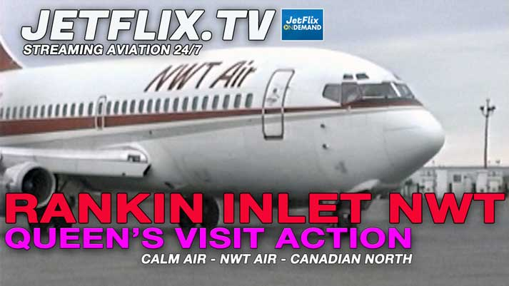 Rankin Inlet Airport Action 1994 - NWT Air | Calm Air | Canadian North - Now on JetFlix TV