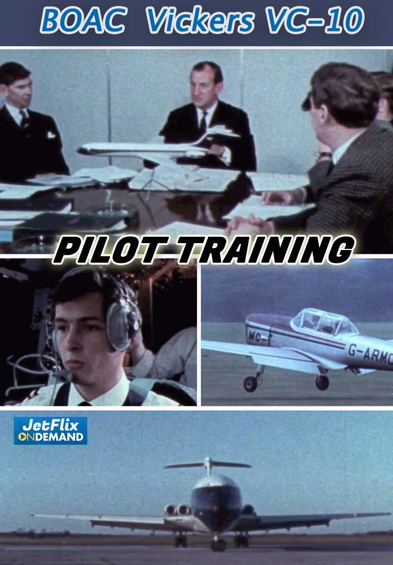 BOAC Vickers VC-10 Flight Crew Training Film 1970