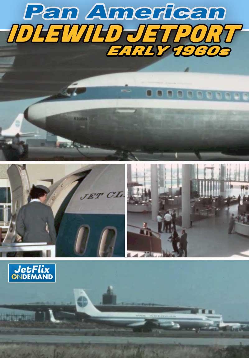 Pan American Airlines New York Jet Port Circa 1960