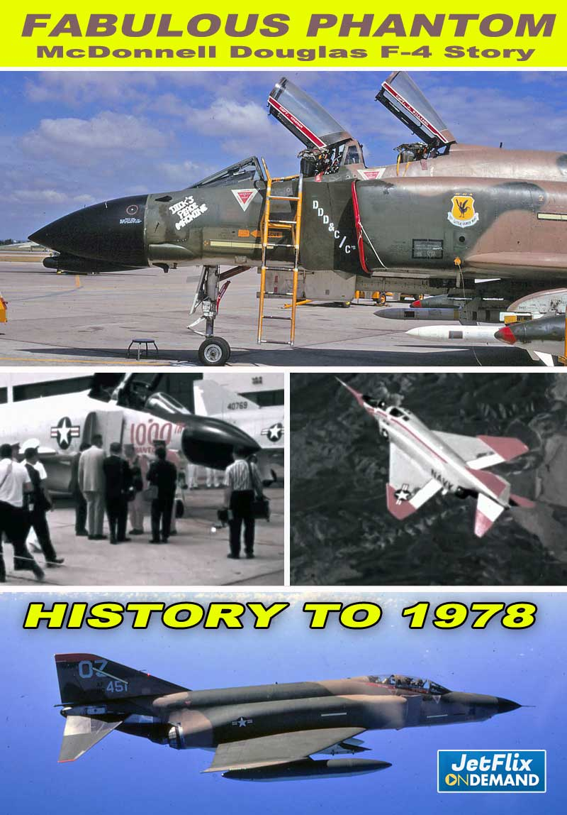 F-4 Phantom History to 1978 - McDonnell Douglas 5000 Aircraft Winner