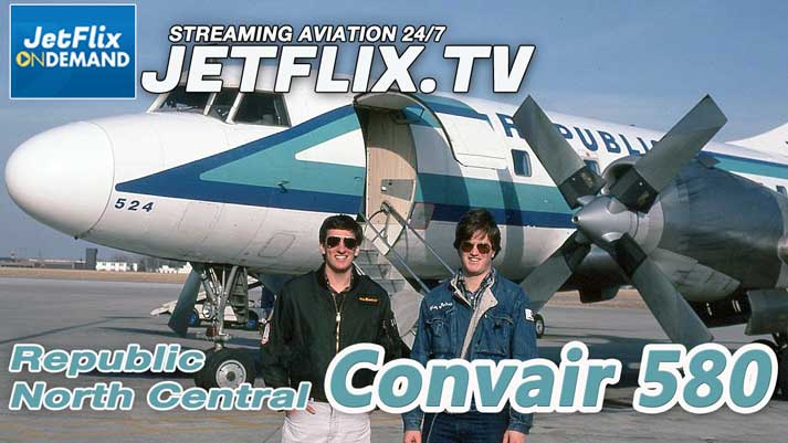 Convair 580 Memories with Henry Tenby North Central Republic Northwest Airlines